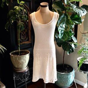 Sundance boho crochet lace tank  sheath sundress